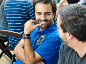 Bruno Dias passa pela Casa Glamurama e revela futuros agitos