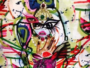 Adriana Degreas une moda e arte em sua Limited Artsy Collection
