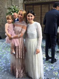 Frida Giannini, ex Gucci, se casa em Roma usando Valentino