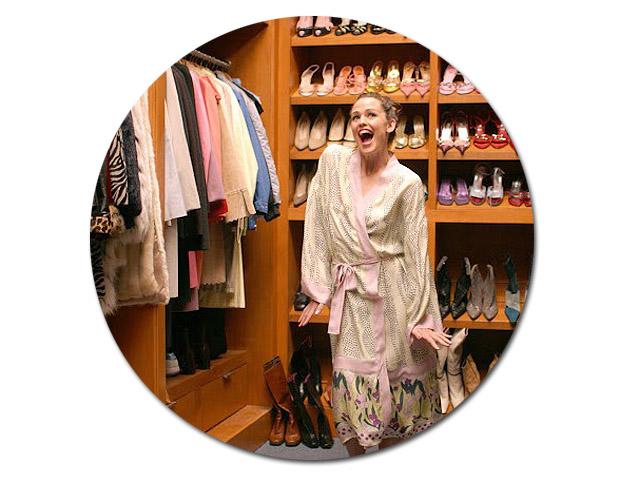 O closet de Jenna Rink || Créditos: Reprodução