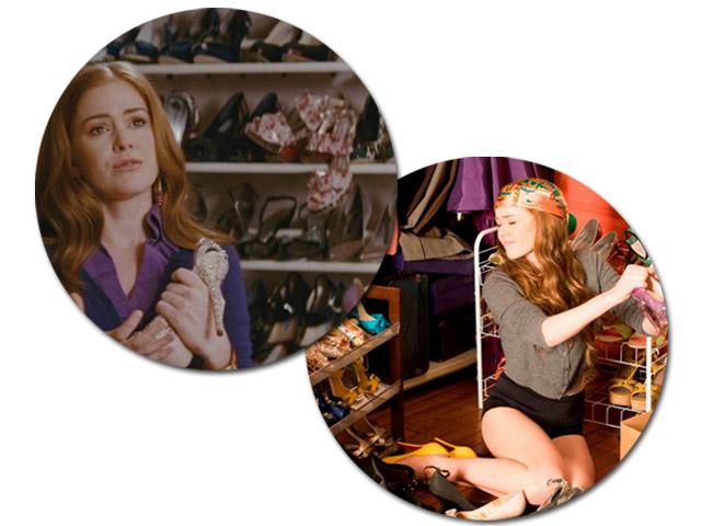 O closet de Becky Bloom || Créditos: Reprodução