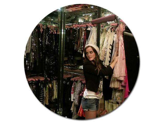 O closet - invadido! - de Paris Hilton || Créditos: Reprodução