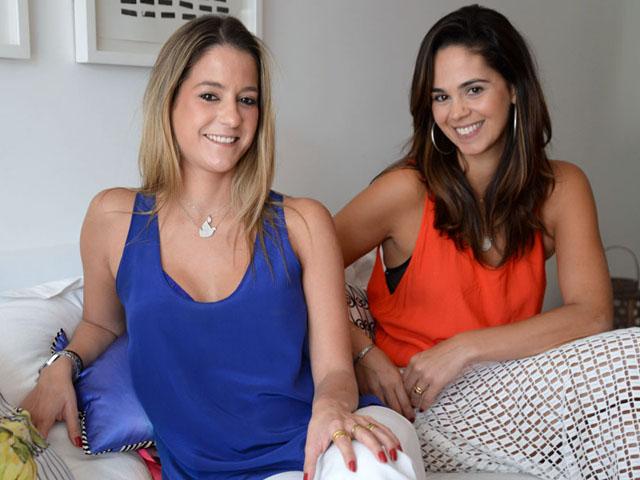 Celina Palhares e Maria Luiza Marques || Créditos: Juliana Rezende