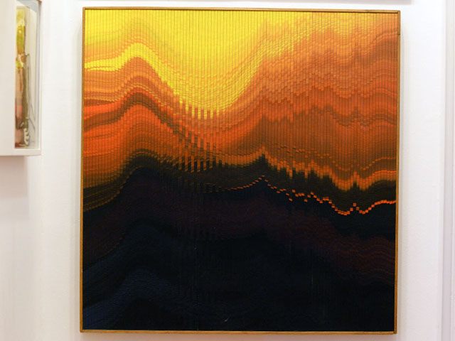 A primeira obra importante da coleção - e a peça mais querida - é uma obra de Palatnik    Créditos: Juliana Rezende