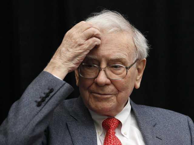 Dia ruim para Warren Buffett    Créditos: Divulgação