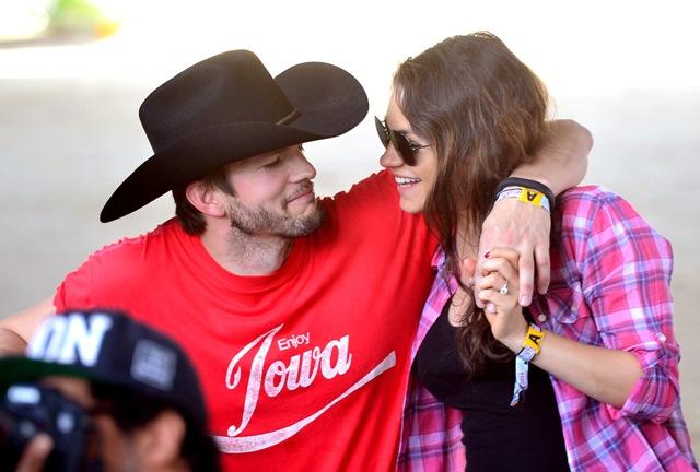 Mila Kunis e Ashton Kutcher ||  Créditos: Getty Images