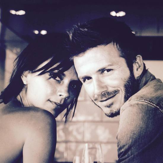 Victoria e David Beckham: só love! || Créditos: Reprodução / Instagram