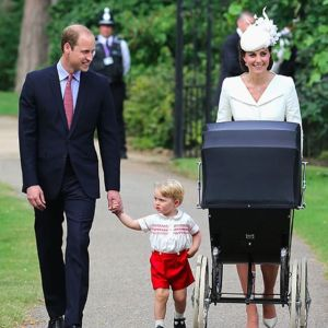 O batizado da Princesa Charlotte na Inglaterra