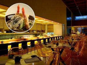 Almoço gourmet: tempurá Udon no Kosushi. Huumm…