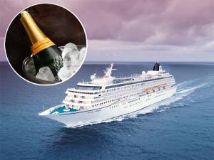 Crystal Cruises faz 25 anos e Pier 1 presenteia seus passageiros