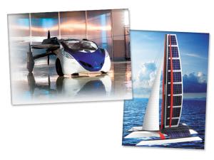 De carros que flutuam a barcos-ilha, conheça os veículos do futuro