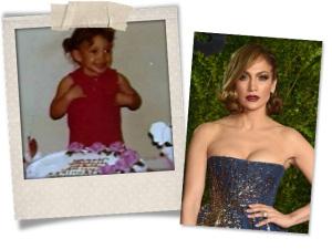 Jennifer Lopez faz aniversário e volta no tempo para comemorar