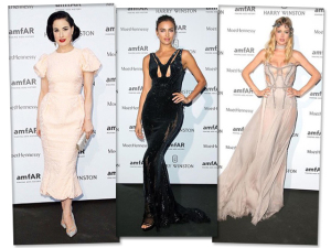 As mais bem vestidas do gala da amfAR em Paris estão aqui!