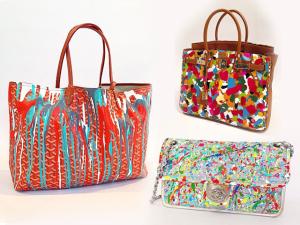 Artista que customiza bolsas deluxe, Olivia Lambiasi é o hype da vez