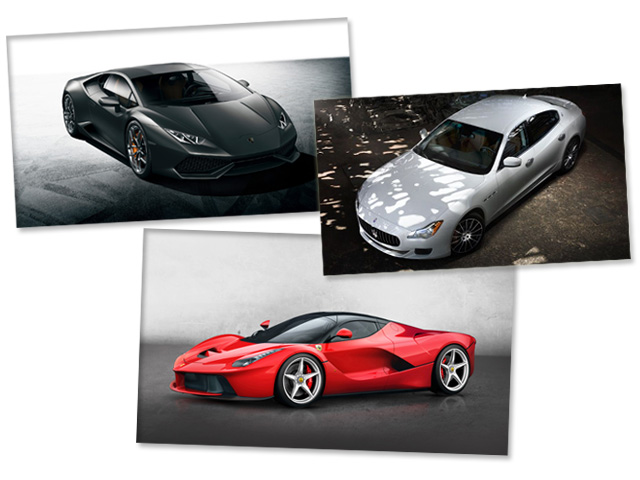 Carros de luxo viram  ||  Créditos: Divulgação