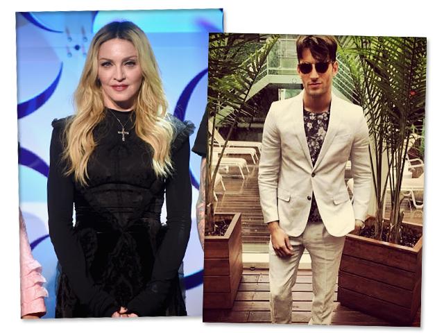 Madonna e Kevin Sampaio: o amor está no ar