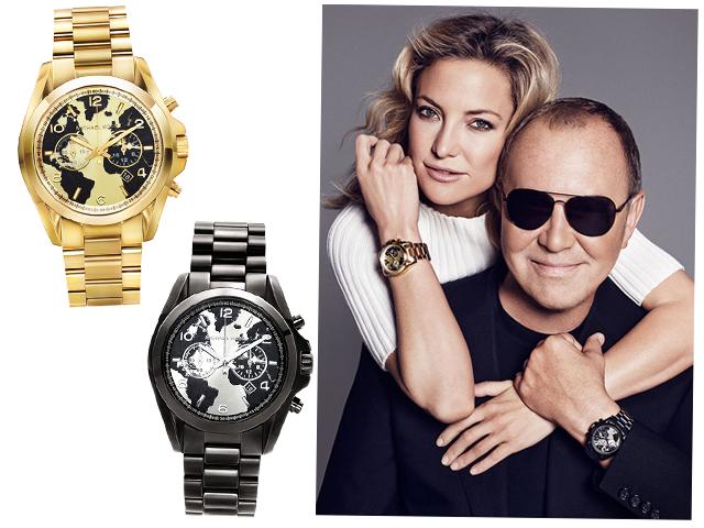 595a636b9b941 Os modelos lançados para a campanha Watch Hunger Stop e a atriz Kate Hudson  e o estilista Michael Kors