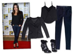 Look versátil de Mila Kunis é a inspiração desta quarta-feira