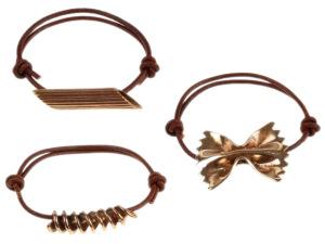 Desejo do Dia: as pulseiras de macarrão para os fãs de culinária