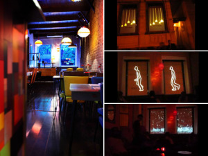 Restaurante queridinho do Rio projeta vídeos nas janelas. Play!