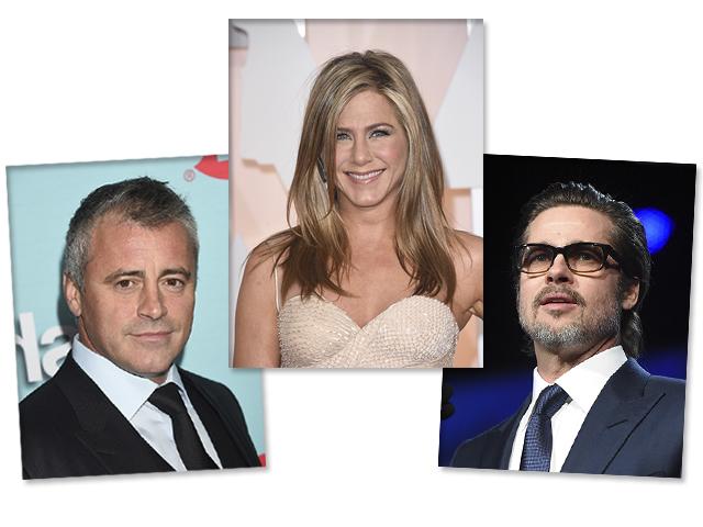 Paul, Jennifer e Brad: triângulo amoroso  ||  Créditos: Getty Images