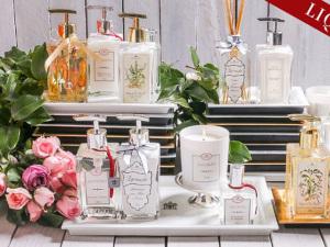 Tania Bulhões remarca seus produtos de mesa e perfumaria com descontos de até 70%