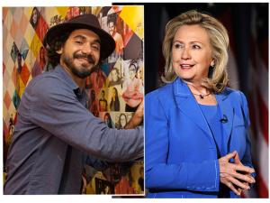 Coisa nossa! Será de Kobra parte da campanha visual de Hillary Clinton