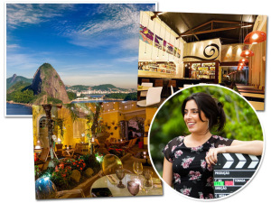 A cineasta Júlia Rezende entrega seus points preferidos no Rio