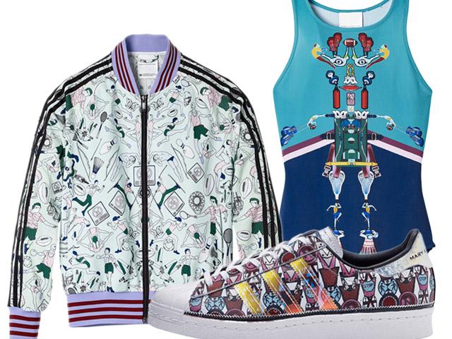 81525f91d98 Desejo do Dia  a nova coleção de Mary Katrantzou para a Adidas ...