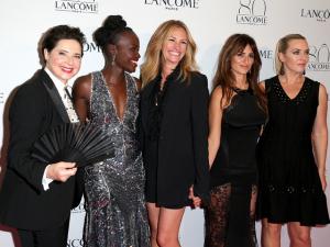 Toda a beleza das atrizes no festão da Lancôme em Paris
