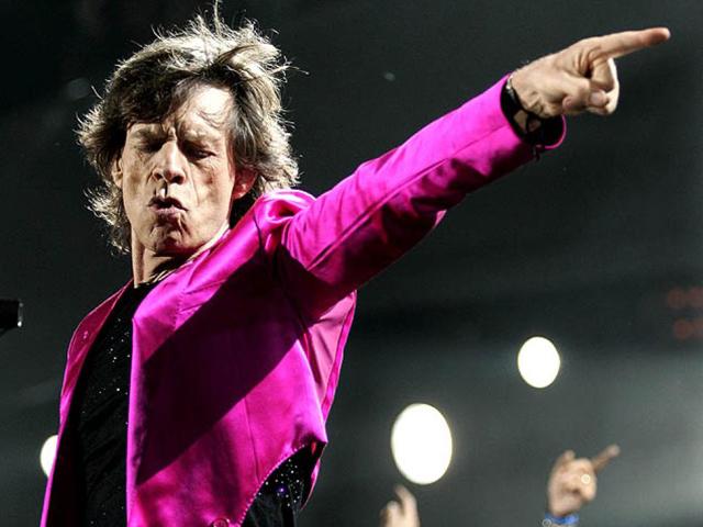 Mick Jagger: you got me rocking!    Créditos: Getty Images