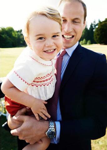 Príncipe George, o pequeno lorde inglês      Créditos: Getty Images