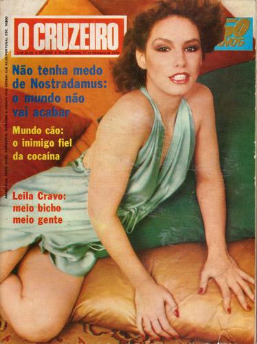 Em 1975, Leila Cravo sofreu um acidente que teria sido um divisor de águas em sua carreira  Créditos: Reprodução/Revista J.P