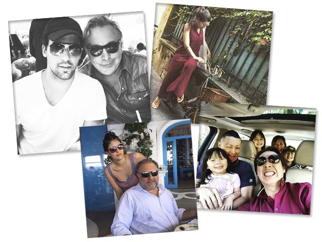 Murilo Lomaz e Sig Bergamin, Renata Vanzetto, Minato Izakaya e Família Derani    Créditos: Reprodução Instagram