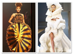 Batalha de looks: Margiela X Gaultier, qual o desfile mais exótico?