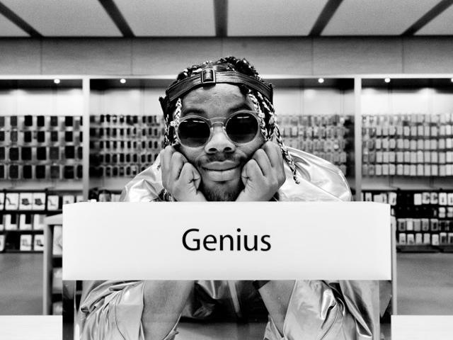 Foram 16 semanas indo numa Apple Store para criar o álbum || Créditos: Matthew Narvin