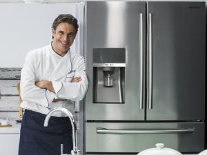 Samsung Chef Experience traz Olivier Anquier em sua primeira transmissão