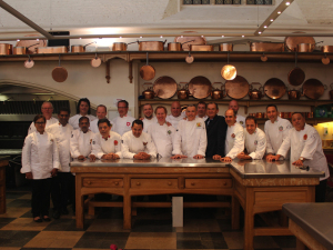 Le Richemond recebe Club des Chefs des Chefs em Genebra