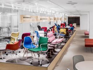 Herman Miller inaugura em SP seu primeiro showroom na América do Sul