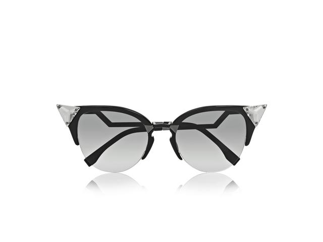 Desejo do Dia  Fendi reinventa os óculos estilo gatinho. Miau ... 043c1c497d
