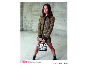 Louis Vuitton lança nova musa com campanha multifacetada