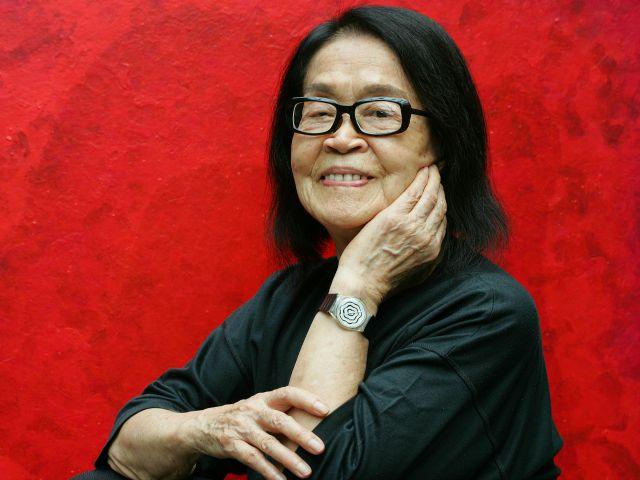 Tomie Ohtake será a grande homenageada da 22ª edição do Salão de Arte || Créditos: Divulgação