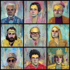 Exposição pop-up em NY tem obras inspiradas em Wes Anderson