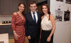 Mesa Redonda com Sandro Barros e Patricia Anastassiadis na Ornare