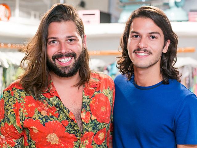 Thomaz Azulay e Patrick Doering ||  Créditos: Bruno Ryfer / Divulgação