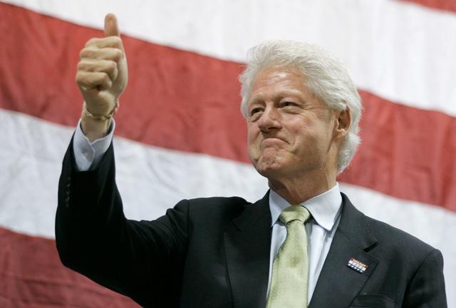 Clinton comemora 69 anos nesta quarta    Créditos: Getty Images