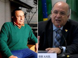 Vannuchi, do Instituto Lula, visita Carlos Araújo, ex-marido de Dilma