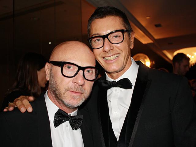 Os estilistas Domenico Dolce e Stefano Gabbana || Créditos: Getty Images