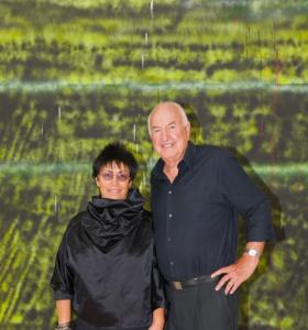 Brasil recebe casal mais influente entre colecionadores de arte dos EUA