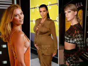 Delineador, nude e moicano: a beleza das celebs no VMA 2015